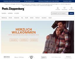 Peek und Cloppenburg shopping