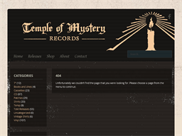 Temple Of Mystery Records gift card purchase