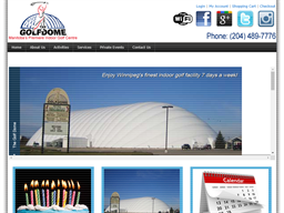 The Golf Dome shopping