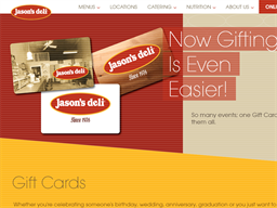 Jasons Deli gift card purchase