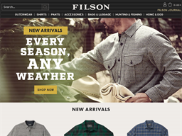 Filson shopping
