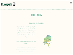 Flanigan's Seafood Bar and Grill gift card purchase