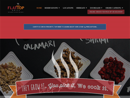 Flat Top Grill shopping