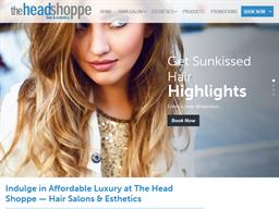 The Head Shoppe Hair & Esthetics shopping