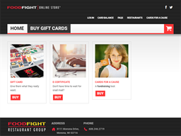 Food Fight Restaurant Group gift card purchase