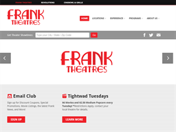Frank Theatres shopping