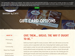 Great Harvest Bread Co. Physical gift card purchase