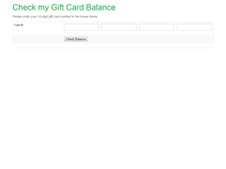 Fresh Berry gift card balance check