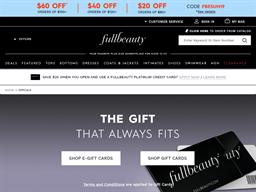 Fullbeauty gift card balance check