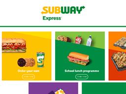 Subway Express shopping