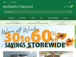 Bed Bath and Beyond shopping