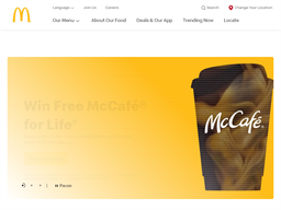 McDonald's Arch Card shopping
