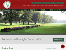 Gleneagles Country Club gift card purchase