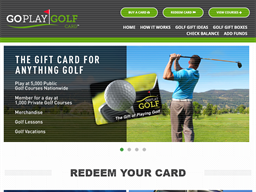 Go Play Golf shopping