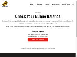 Taco Bueno gift card purchase