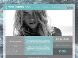 Great Jones Spa shopping