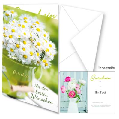 FloraPrima gift card design and art work