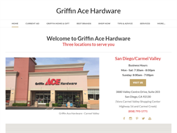 Griffin Ace Hardware shopping
