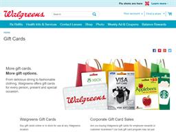 Walgreens gift card balance check