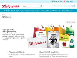 Walgreens gift card purchase
