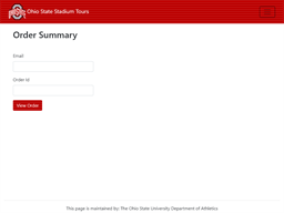Ohio State Stadium Tours gift card purchase