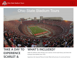 Ohio State Stadium Tours shopping
