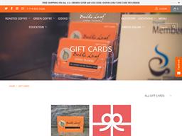 Bodhi Leaf Coffee Traders gift card purchase