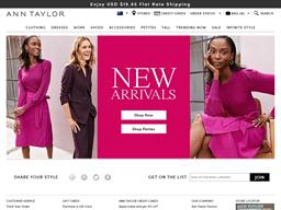 Ann Taylor shopping