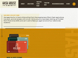 Hash House a Go Go gift card purchase