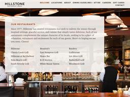 Hillstone Restaurant Group shopping
