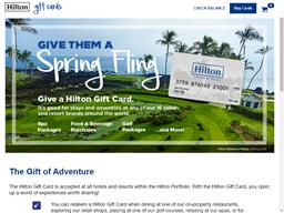 Hotel del Coronado gift card purchase