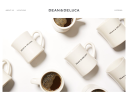 Dean and DeLuca shopping