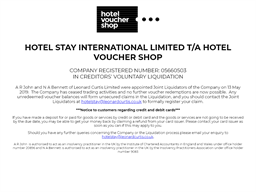 Hotel Voucher Shop gift card purchase
