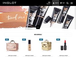 Inglot USA shopping