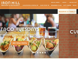 Iron Hill Brewery & Restaurant shopping
