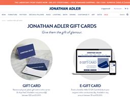 Jonathan Adler gift card balance check