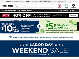 Kohls Cash shopping