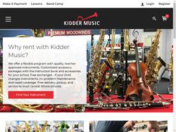 Kidder Music shopping