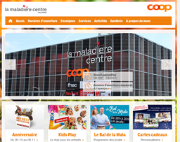 la maladiere centre shopping