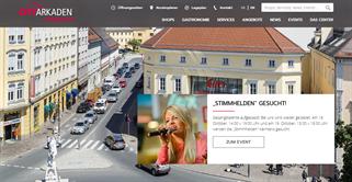 City Arkaden Klagenfurt shopping