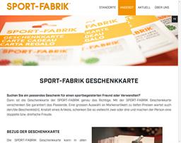 Sport Fabrik gift card balance check