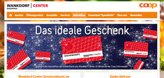 Wankdorf Center gift card purchase