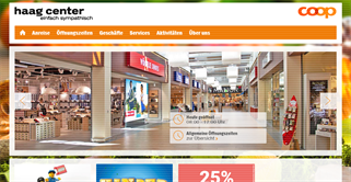 haag center shopping