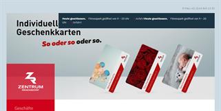 Zentrum Regensdorf gift card purchase