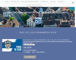 Vereinigung Pro Zug gift card purchase