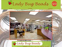 Lady Bug Beads shopping