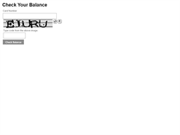 Larsen's Restaurants gift card balance check