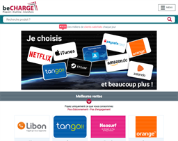 beCHARGE shopping
