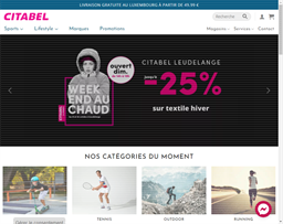 Citabel Sports shopping