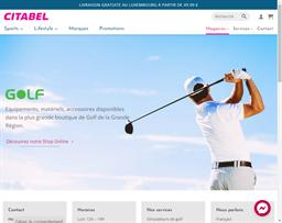 Citabel Golf shopping